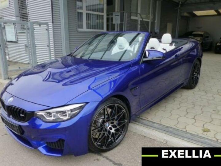 BMW M4 Cabrio Compétition  BLEU PEINTURE METALISE Occasion - 1