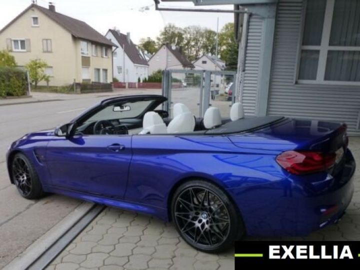 BMW M4 Cabrio Compétition  BLEU PEINTURE METALISE Occasion - 2