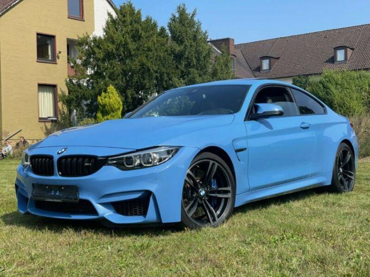 BMW M4 Coupé 431 ch M DKG7 / FACELIFT / Driving Assis/ CAMERA / GARANTIE 12 MOIS Bleu - 1