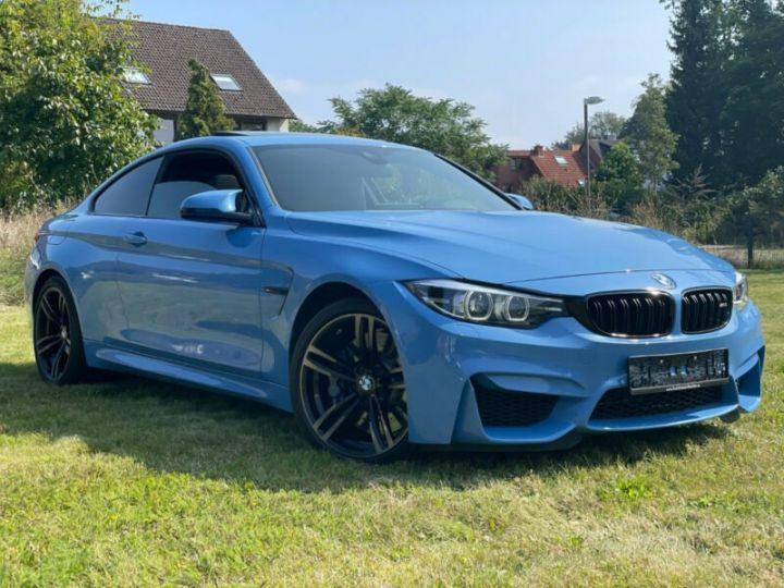 BMW M4 Coupé 431 ch M DKG7 / FACELIFT / Driving Assis/ CAMERA / GARANTIE 12 MOIS Bleu - 3