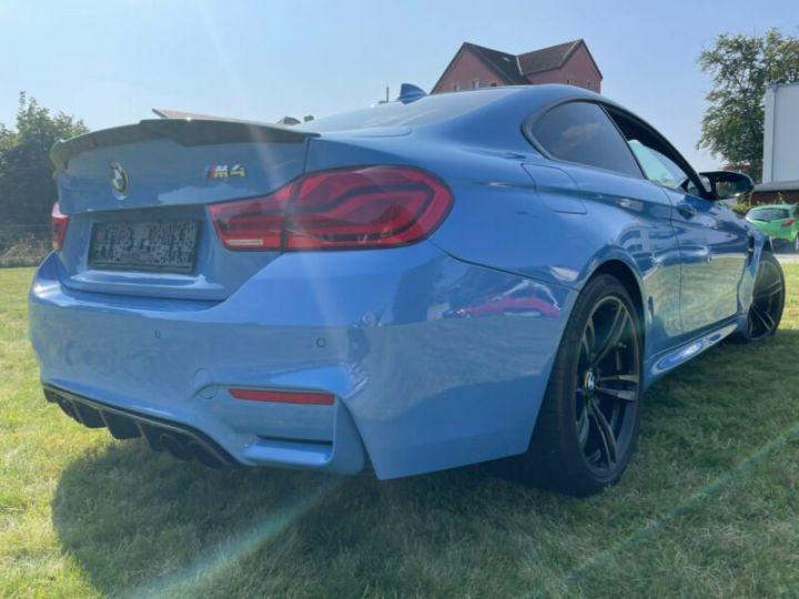 BMW M4 Coupé 431 ch M DKG7 / FACELIFT / Driving Assis/ CAMERA / GARANTIE 12 MOIS Bleu - 4