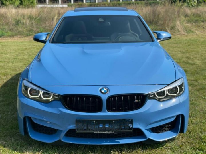 BMW M4 Coupé 431 ch M DKG7 / FACELIFT / Driving Assis/ CAMERA / GARANTIE 12 MOIS Bleu - 5