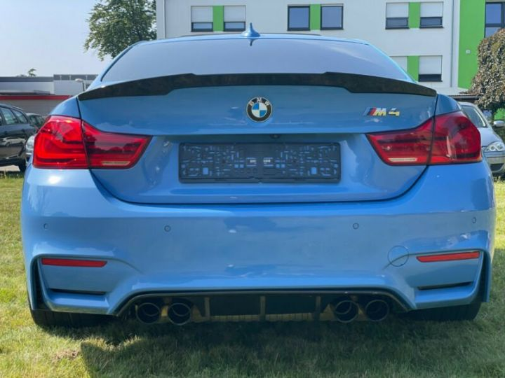 BMW M4 Coupé 431 ch M DKG7 / FACELIFT / Driving Assis/ CAMERA / GARANTIE 12 MOIS Bleu - 6