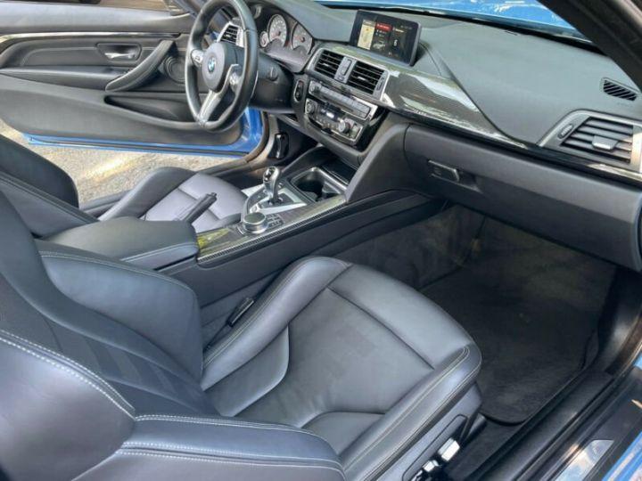 BMW M4 Coupé 431 ch M DKG7 / FACELIFT / Driving Assis/ CAMERA / GARANTIE 12 MOIS Bleu - 7