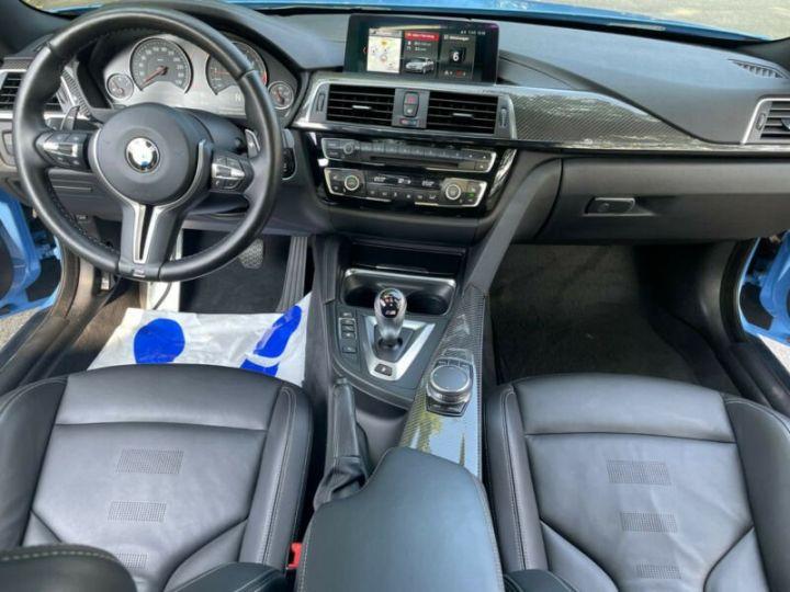 BMW M4 Coupé 431 ch M DKG7 / FACELIFT / Driving Assis/ CAMERA / GARANTIE 12 MOIS Bleu - 9