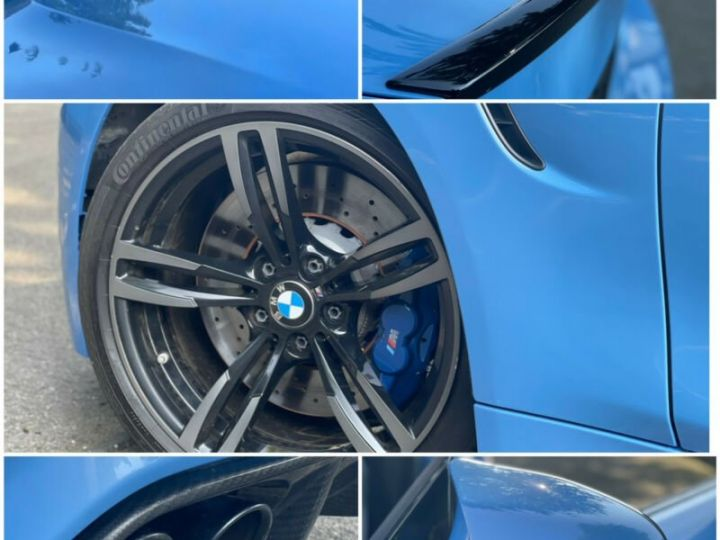 BMW M4 Coupé 431 ch M DKG7 / FACELIFT / Driving Assis/ CAMERA / GARANTIE 12 MOIS Bleu - 10