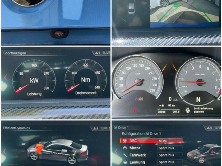 BMW M4 Coupé 431 ch M DKG7 / FACELIFT / Driving Assis/ CAMERA / GARANTIE 12 MOIS Bleu - 13