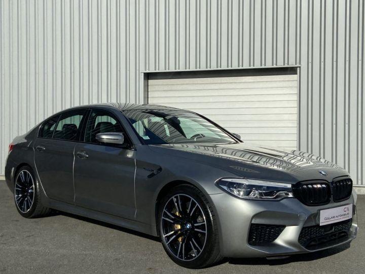 BMW M5 4.4 V8 BI-TURBO 600ch (F90) BVA8 GRIS - 4