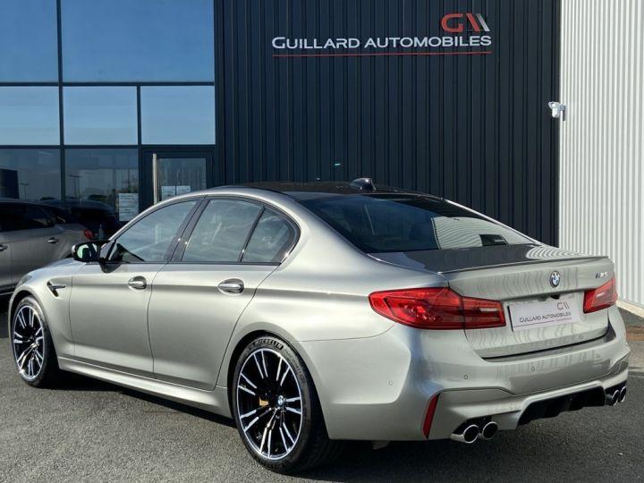 BMW M5 4.4 V8 BI-TURBO 600ch (F90) BVA8 GRIS - 5
