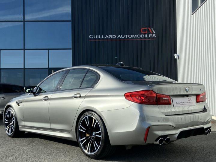 BMW M5 4.4 V8 BI-TURBO 600ch (F90) BVA8 GRIS - 6