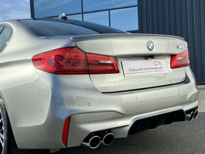 BMW M5 4.4 V8 BI-TURBO 600ch (F90) BVA8 GRIS - 8