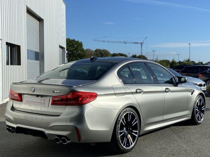 BMW M5 4.4 V8 BI-TURBO 600ch (F90) BVA8 GRIS - 9