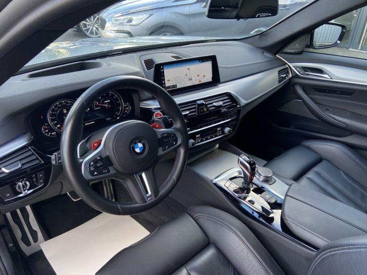 BMW M5 4.4 V8 BI-TURBO 600ch (F90) BVA8 GRIS - 13