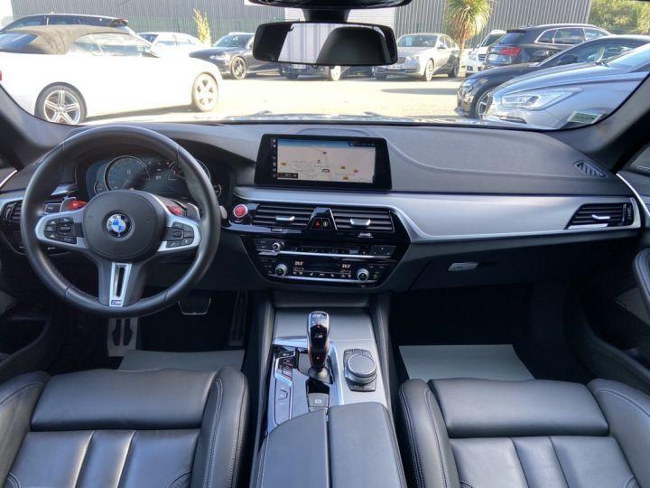 BMW M5 4.4 V8 BI-TURBO 600ch (F90) BVA8 GRIS - 15