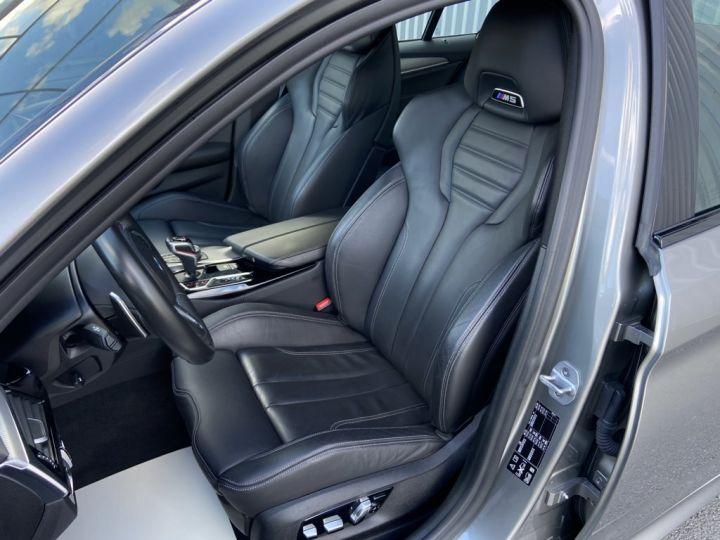 BMW M5 4.4 V8 BI-TURBO 600ch (F90) BVA8 GRIS - 18