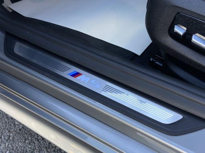 BMW M5 4.4 V8 BI-TURBO 600ch (F90) BVA8 GRIS - 29