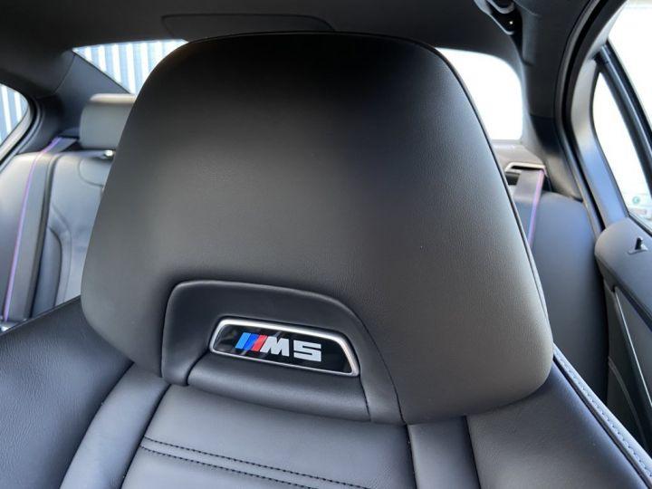 BMW M5 4.4 V8 BI-TURBO 600ch (F90) BVA8 GRIS - 30