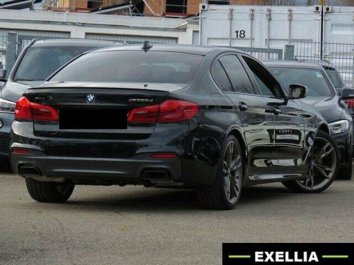 BMW M5 M550d xDRIVE  NOIRE PEINTURE METALISEE  Occasion - 3