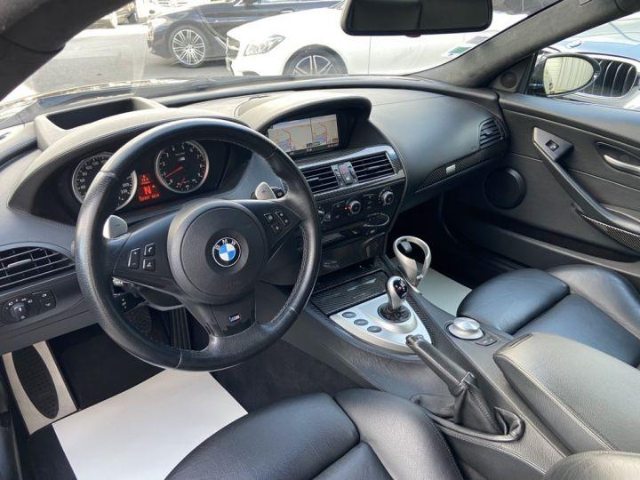 BMW M6 5.0 V10 507ch (E63) SMG7 NOIR - 11