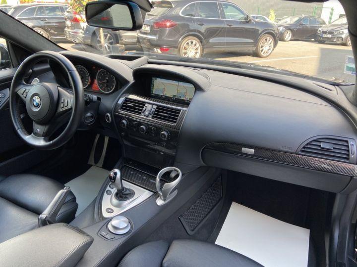 BMW M6 5.0 V10 507ch (E63) SMG7 NOIR - 12