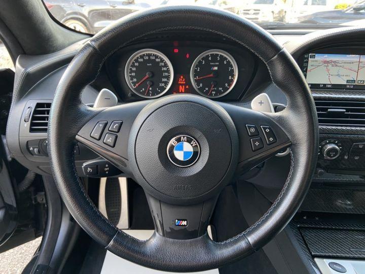 BMW M6 5.0 V10 507ch (E63) SMG7 NOIR - 21