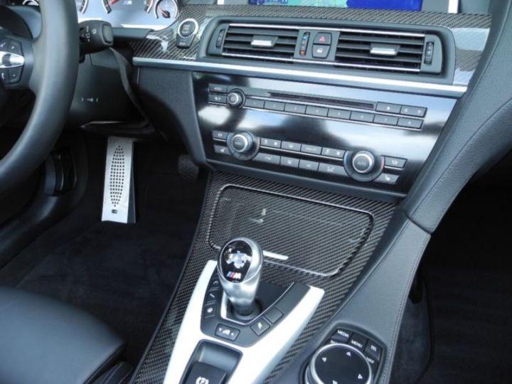 BMW M6 CABRIOLET PERFORMANCE  DKG7 NOIR  Occasion - 14