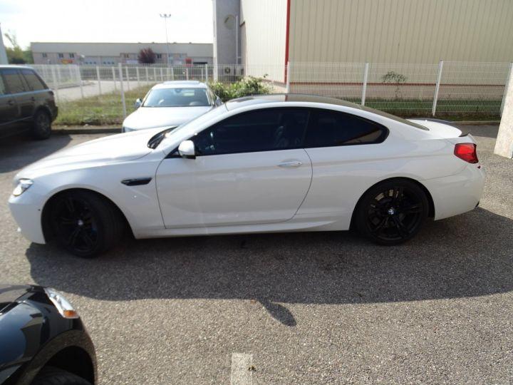 BMW M6 Coupe DKG7 560PS Véhicule Français FULL Options Echappements AKRAPOVIC blanc nacré - 4