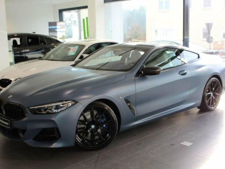 BMW M8 Coupe M850i xDrive First Edition Bleu Gris - 1