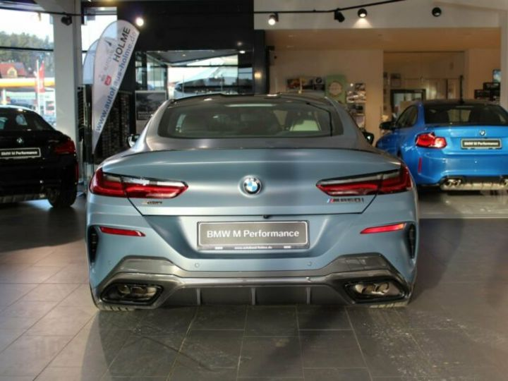 BMW M8 Coupe M850i xDrive First Edition Bleu Gris - 7