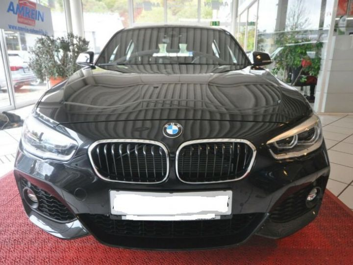 BMW Série 1 116d Aut. M Sport LED+NAVI+18 Noir - 2