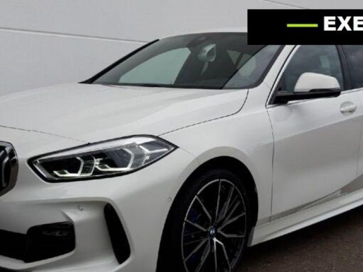 BMW Série 1 118d M Sport BLANC PEINTURE METALISE  Occasion - 1