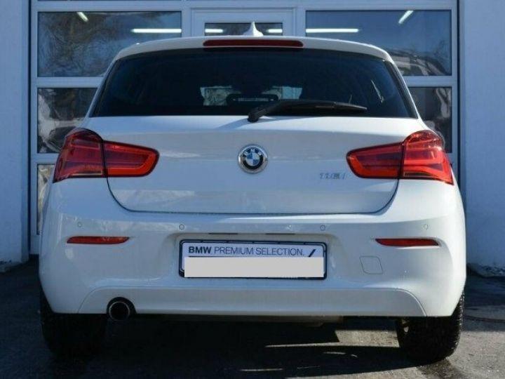 BMW Série 1 118i  1.5 136 ch Advantage (02/2018) blanc alpin - 3