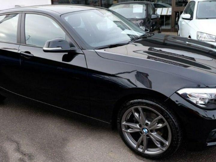 BMW Série 1 118i 1.5 136 sport (12/2017) noir métal - 4