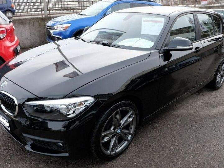 BMW Série 1 118i 1.5 136 sport (12/2017) noir métal - 8
