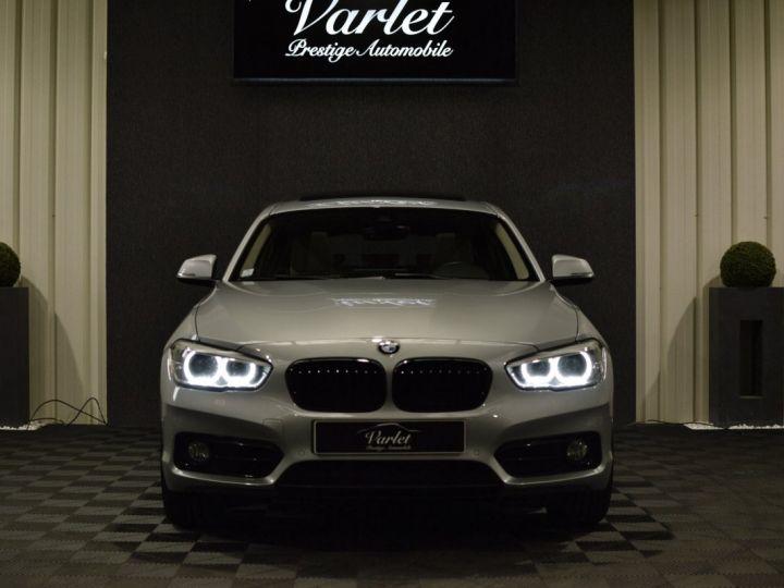 BMW Série 1 120D F20 LCI FINITION SPORT 2.0 190ch 1ERE MAIN GPS PRO CAMERA TOIT OUVRANT FULL LED... ENTR BMW GRIS GLACIER METAL - 2
