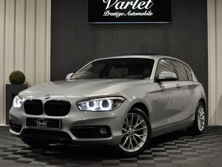 BMW Série 1 120D F20 LCI FINITION SPORT 2.0 190ch 1ERE MAIN GPS PRO CAMERA TOIT OUVRANT FULL LED... ENTR BMW GRIS GLACIER METAL - 3