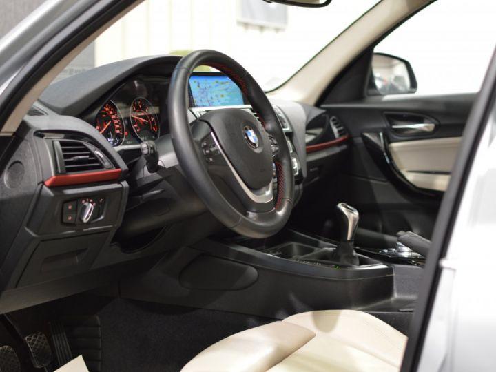 BMW Série 1 120D F20 LCI FINITION SPORT 2.0 190ch 1ERE MAIN GPS PRO CAMERA TOIT OUVRANT FULL LED... ENTR BMW GRIS GLACIER METAL - 7