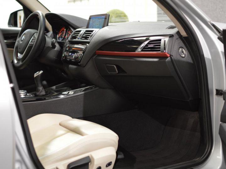 BMW Série 1 120D F20 LCI FINITION SPORT 2.0 190ch 1ERE MAIN GPS PRO CAMERA TOIT OUVRANT FULL LED... ENTR BMW GRIS GLACIER METAL - 12