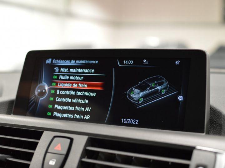 BMW Série 1 120D F20 LCI FINITION SPORT 2.0 190ch 1ERE MAIN GPS PRO CAMERA TOIT OUVRANT FULL LED... ENTR BMW GRIS GLACIER METAL - 17