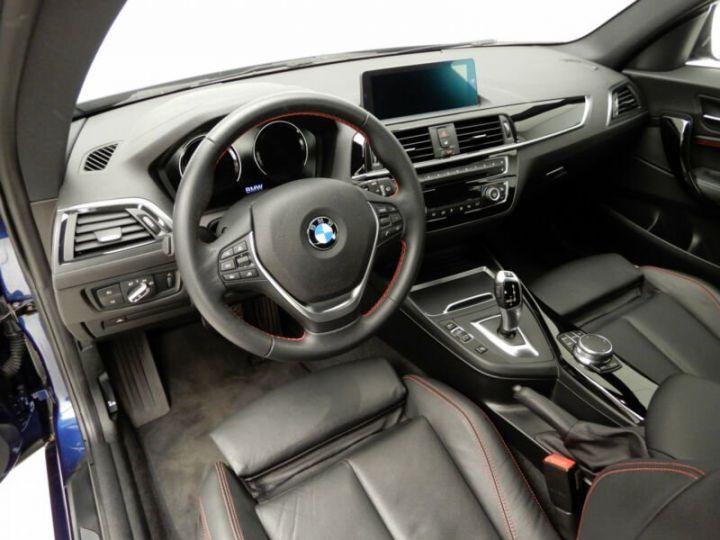 BMW Série 1 bleu nuit - 4