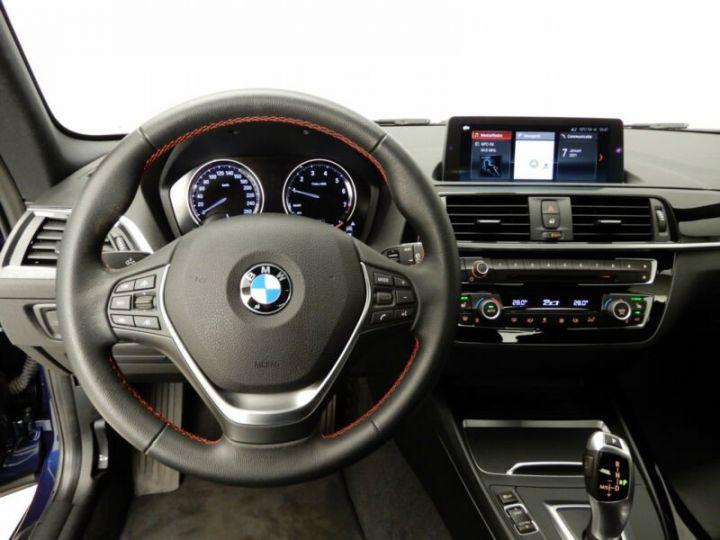 BMW Série 1 bleu nuit - 6