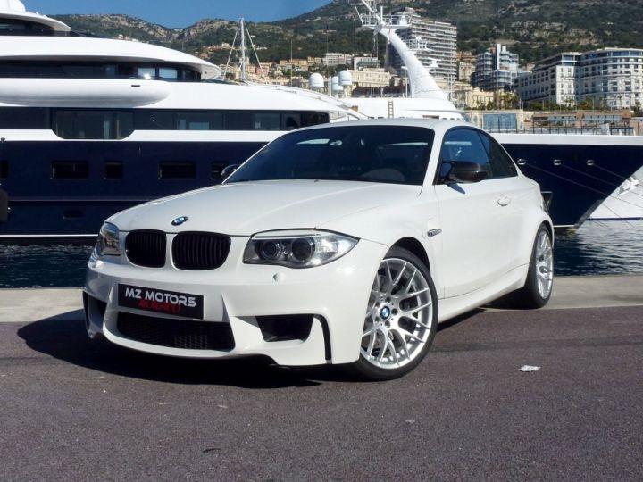 BMW Série 1 E82 COUPE M M1 3.0 340 CV SERIE LIMITEE 062/100 Blanc Alpin Occasion - 1