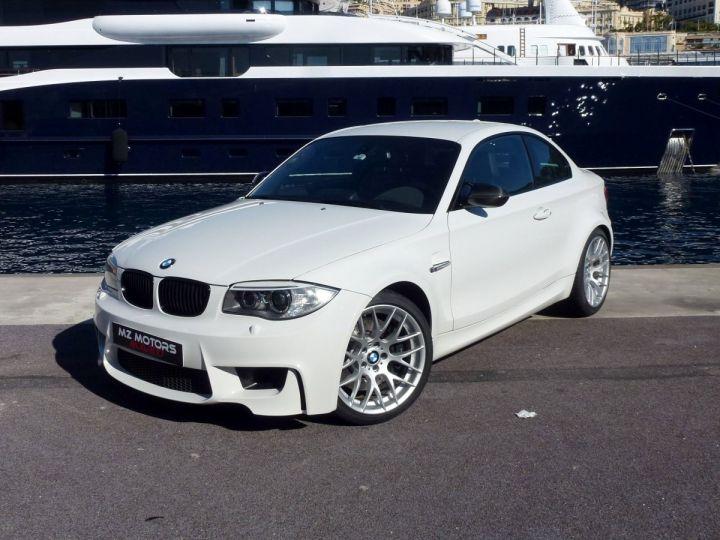 BMW Série 1 E82 COUPE M M1 3.0 340 CV SERIE LIMITEE 062/100 Blanc Alpin Occasion - 2