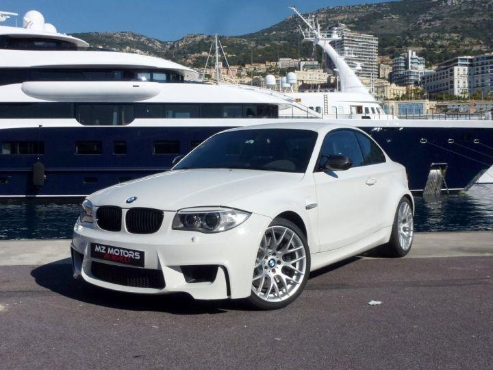 BMW Série 1 E82 COUPE M M1 3.0 340 CV SERIE LIMITEE 062/100 Blanc Alpin Occasion - 3