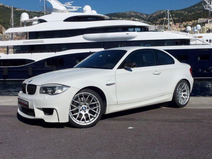 BMW Série 1 E82 COUPE M M1 3.0 340 CV SERIE LIMITEE 062/100 Blanc Alpin Occasion - 4
