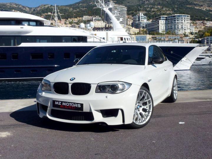 BMW Série 1 E82 COUPE M M1 3.0 340 CV SERIE LIMITEE 062/100 Blanc Alpin Occasion - 5