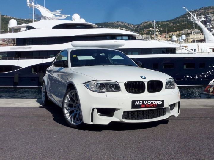 BMW Série 1 E82 COUPE M M1 3.0 340 CV SERIE LIMITEE 062/100 Blanc Alpin Occasion - 6