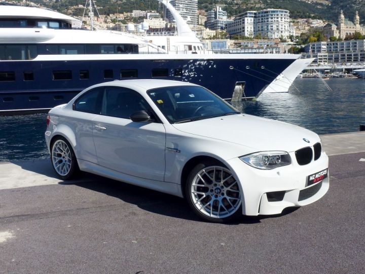 BMW Série 1 E82 COUPE M M1 3.0 340 CV SERIE LIMITEE 062/100 Blanc Alpin Occasion - 9