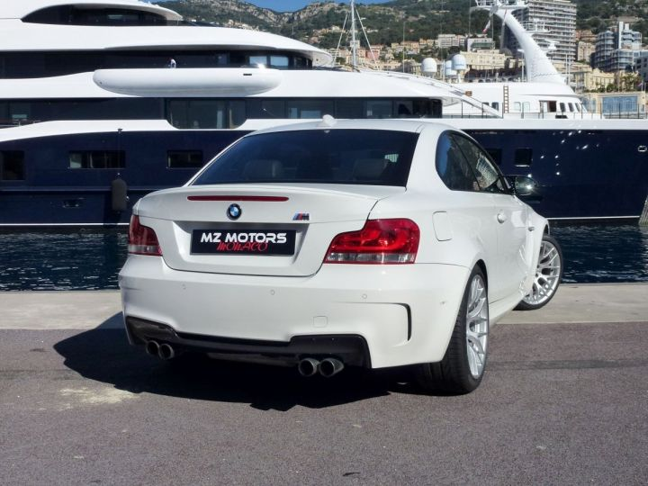 BMW Série 1 E82 COUPE M M1 3.0 340 CV SERIE LIMITEE 062/100 Blanc Alpin Occasion - 10