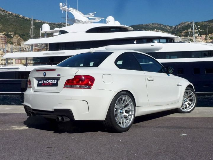 BMW Série 1 E82 COUPE M M1 3.0 340 CV SERIE LIMITEE 062/100 Blanc Alpin Occasion - 12